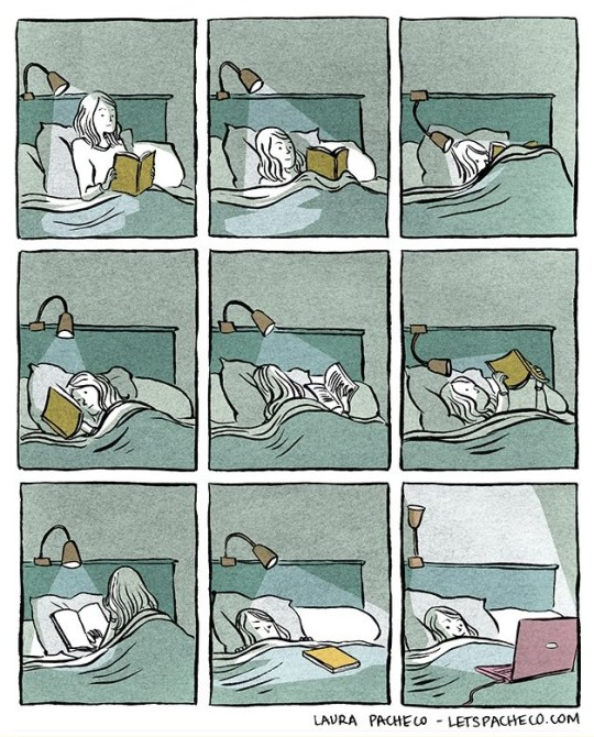 Reading-in-a-bed-positions-540x670